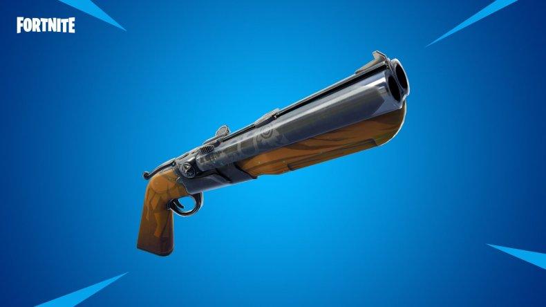 Fortnite double barrel shotgun 520