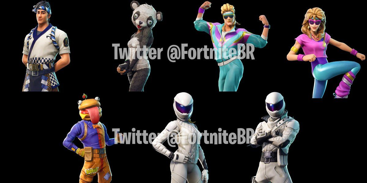 Fortnite 5 20 Leaked Skins And Weapons Break Barrel