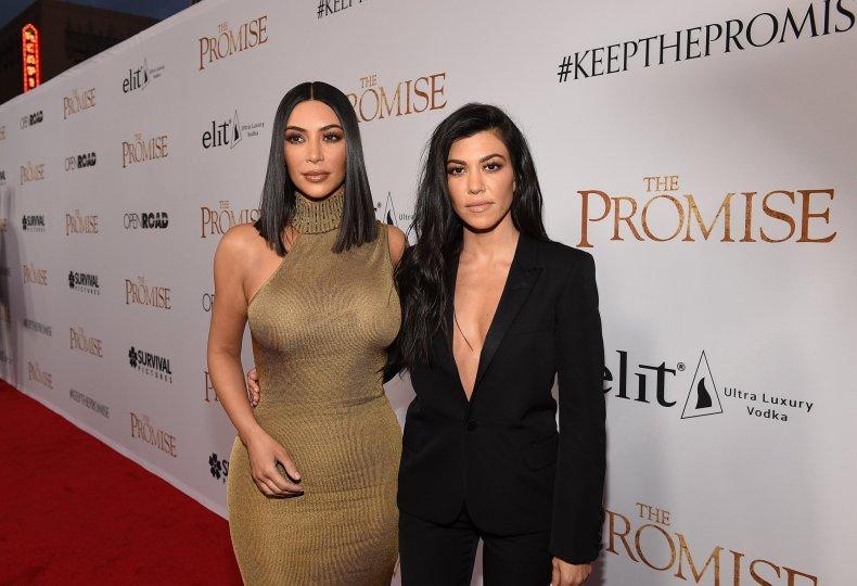 Why are Kim and Kourtney Kardashian Fighting