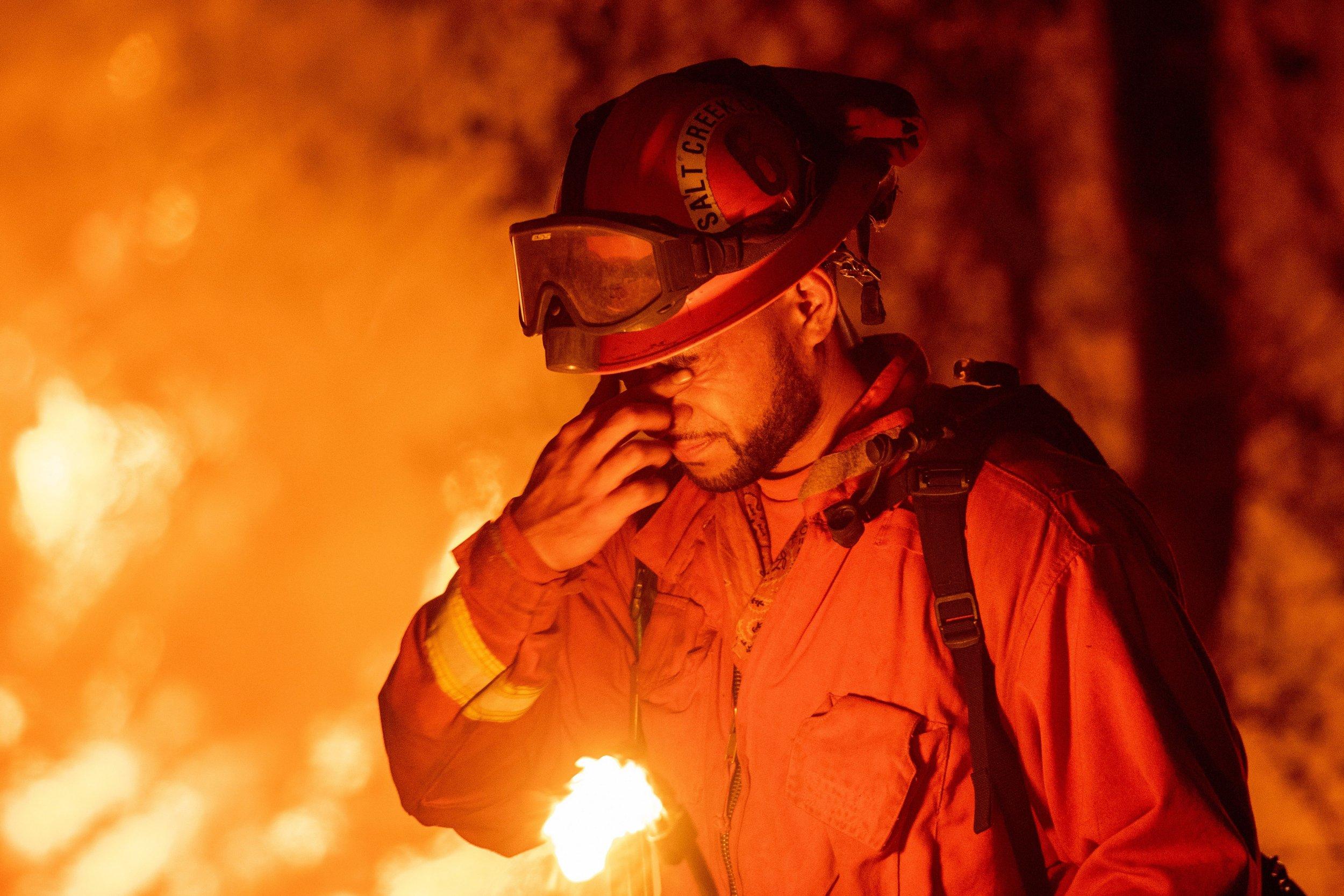 California wildfires inmates