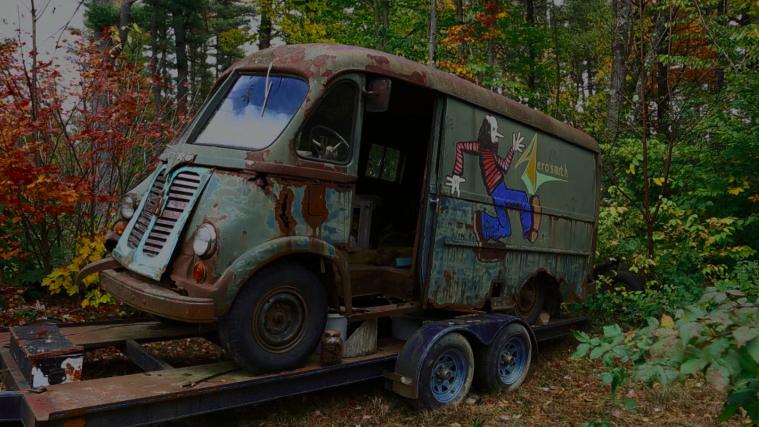 Aerosmith S Original Tour Van Found In Massachusetts By
