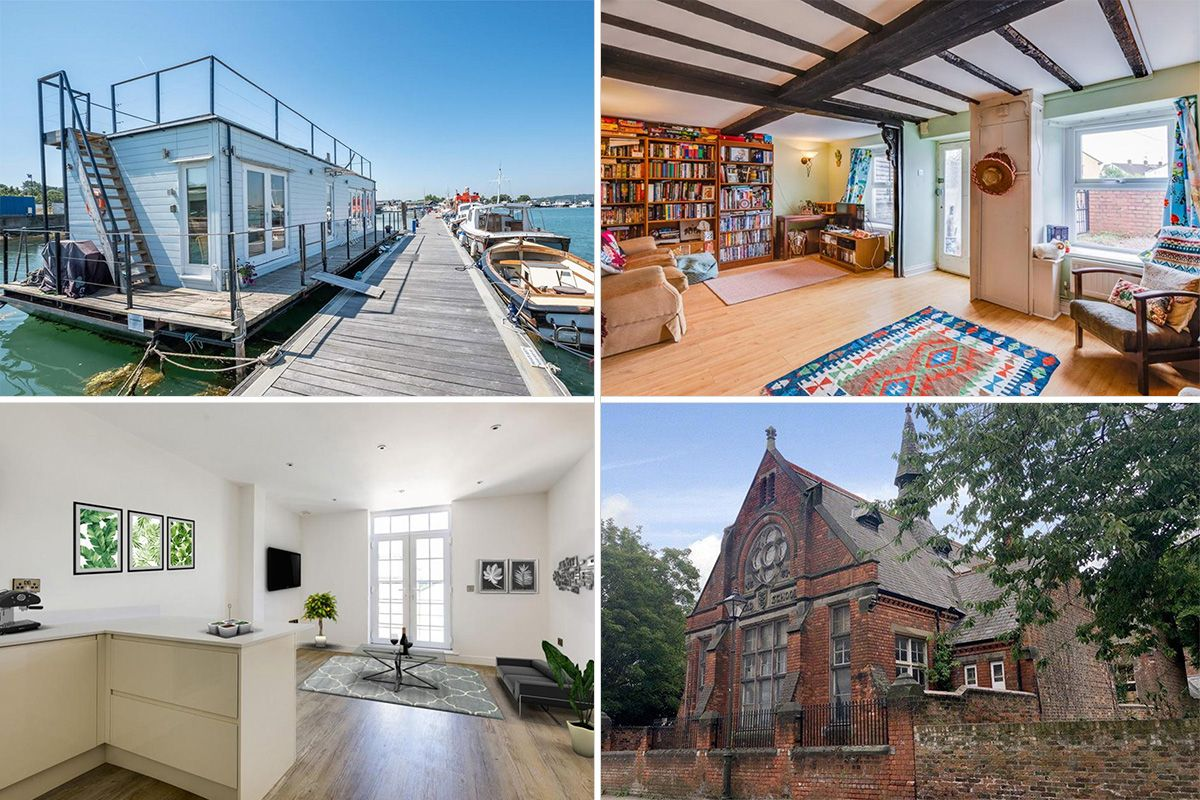 From A Houseboat In The Isle Of Wight To School Hull Here S What Average House Price Will You Across Country Rightmove