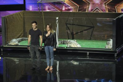 Americas Got Talent Judge Cuts Lord Nil Alligators