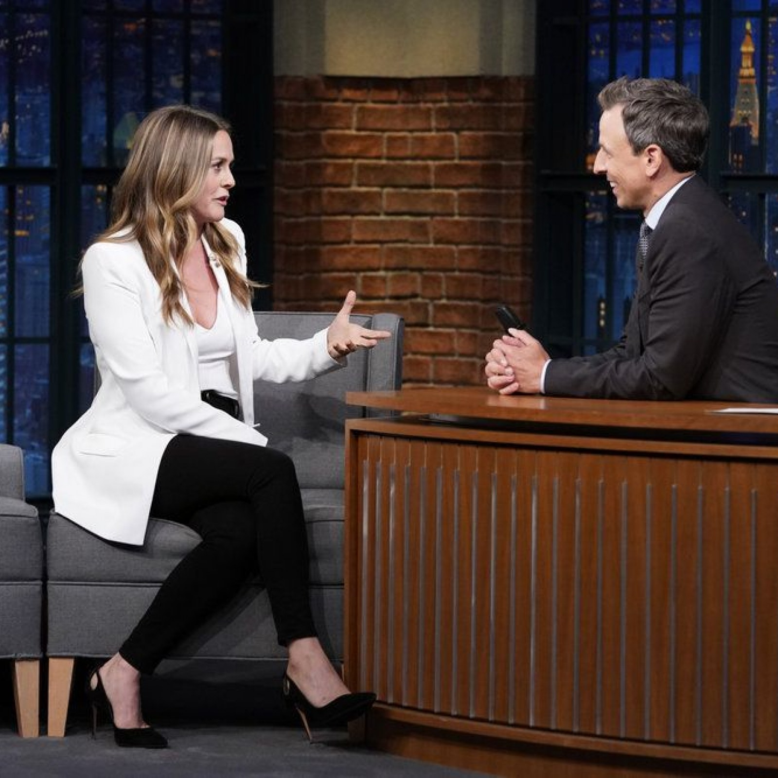 Alicia Silverstone Recalls 'Clueless' Audition, Screaming