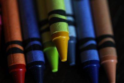 Playskool crayon asbestos