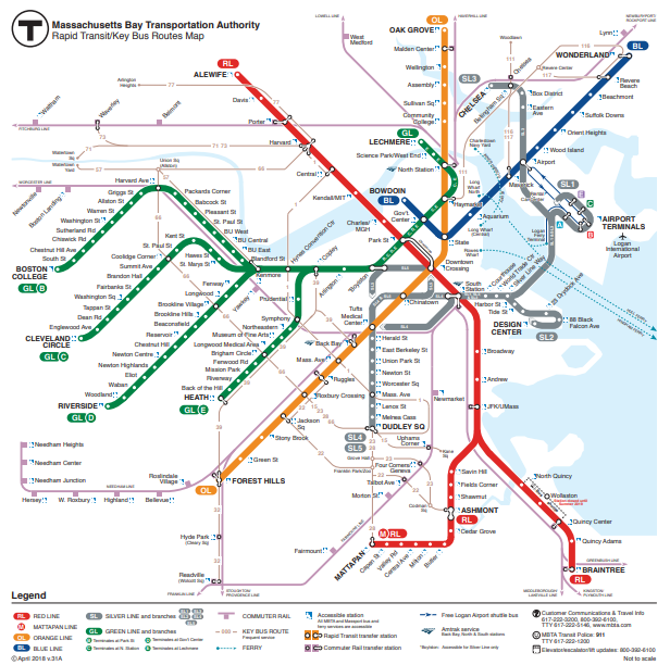 Subway Map Train.Massachusetts Blue Line Train Evacuated Due To Power Outage