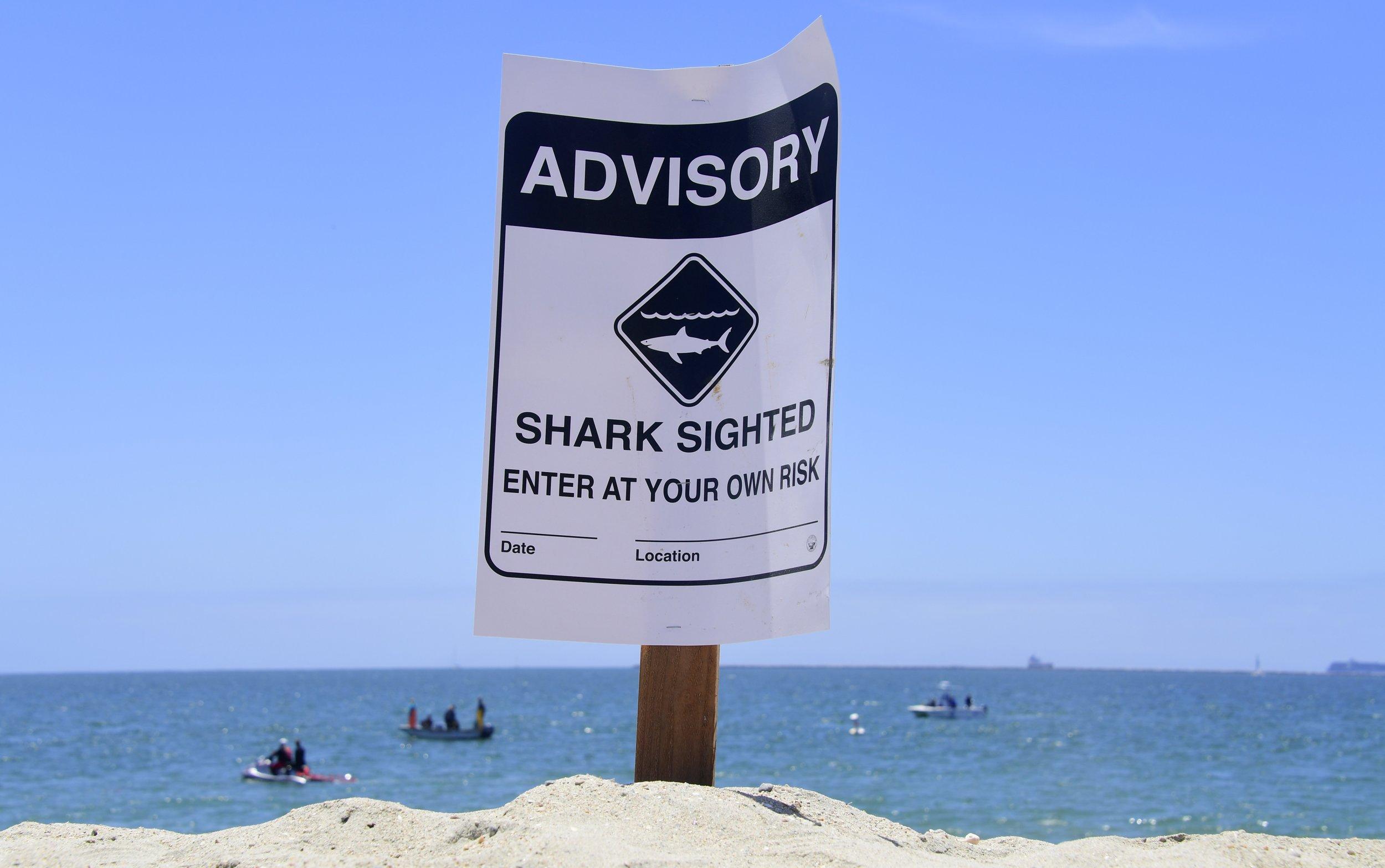 Man bitten by shark at Crystal Beach in Texas