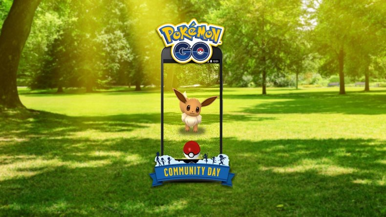 pokemon go community day eevee