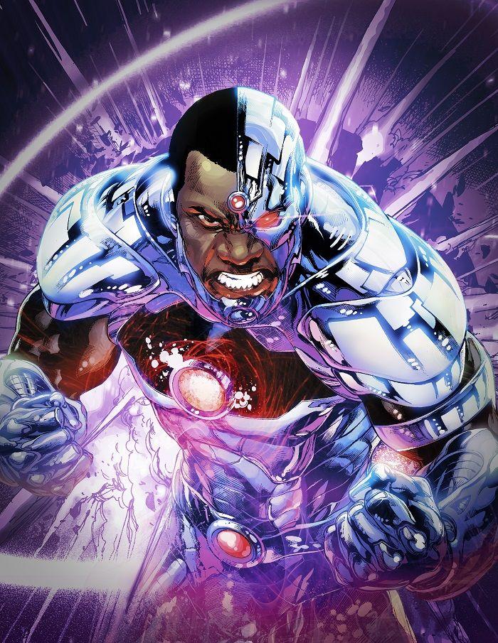cyborg doom patrol titans dc universe