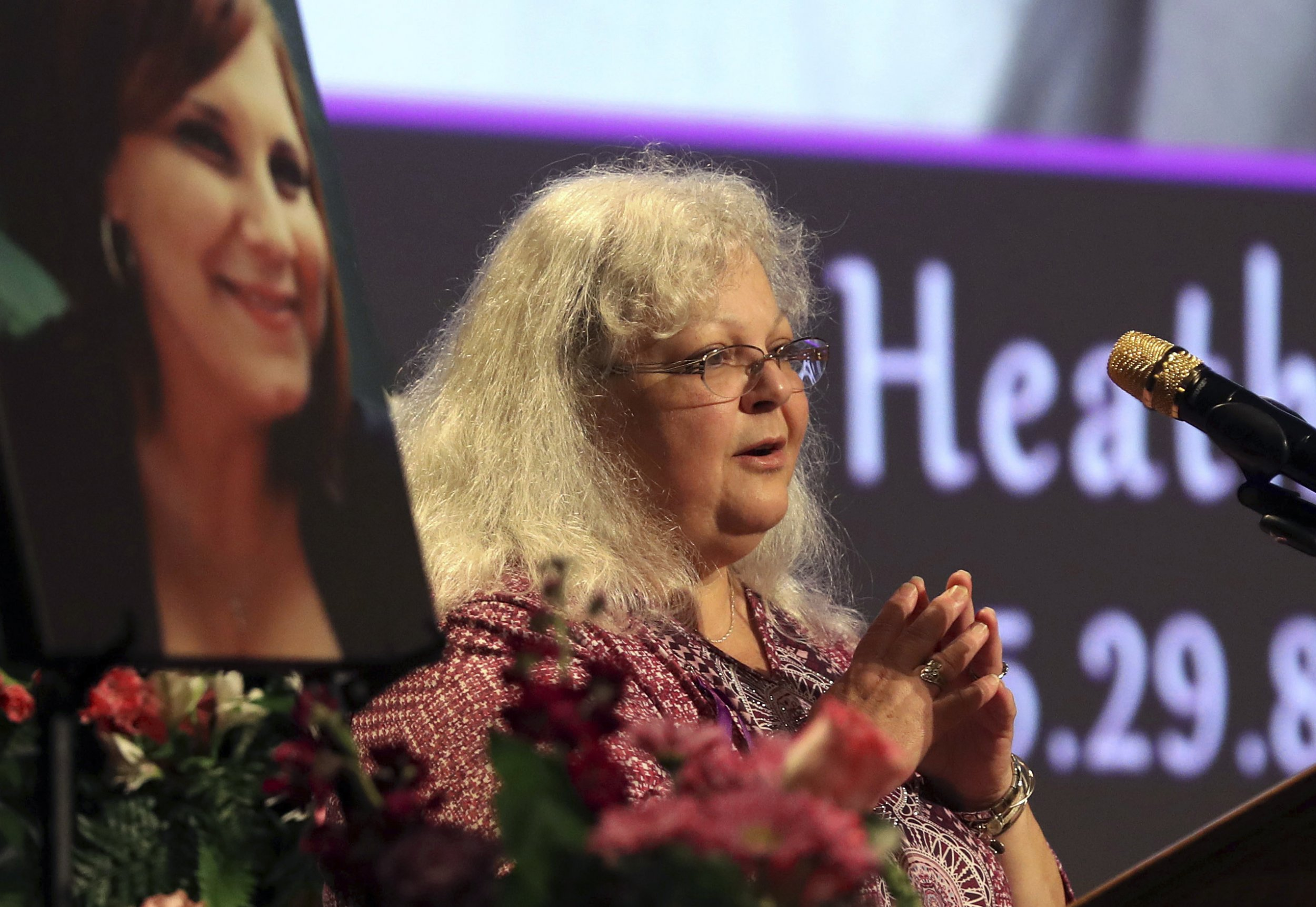 Charlottesville rally, Heather Heyer mother trump