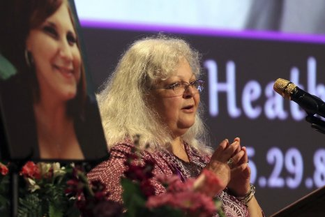 Charlottesville rally, Heather Heyer mother trump