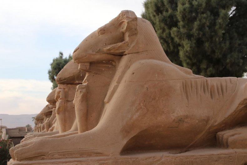 8_10_Ram Headed Sphinxes