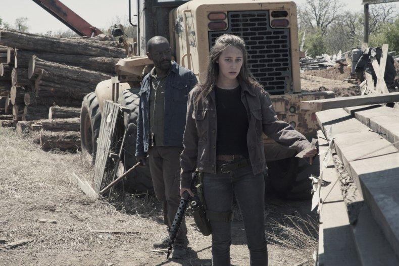 Fear The Walking Dead Morgan Alicia 4x09