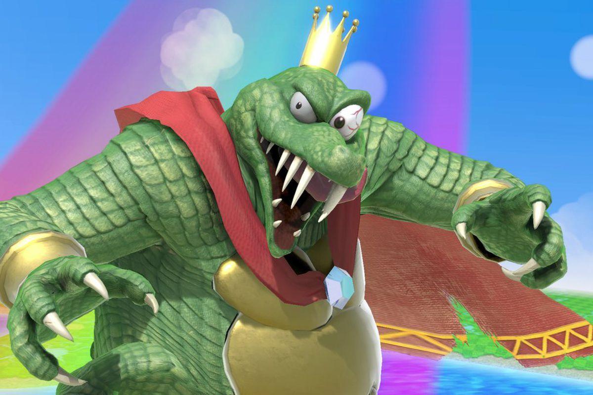 king k rool super smash bros ultimate model