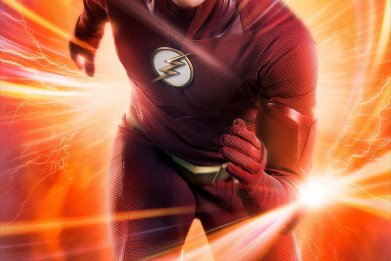 the flash season 5 new suit poster