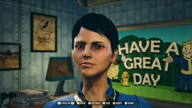 Fallout 76 character customization