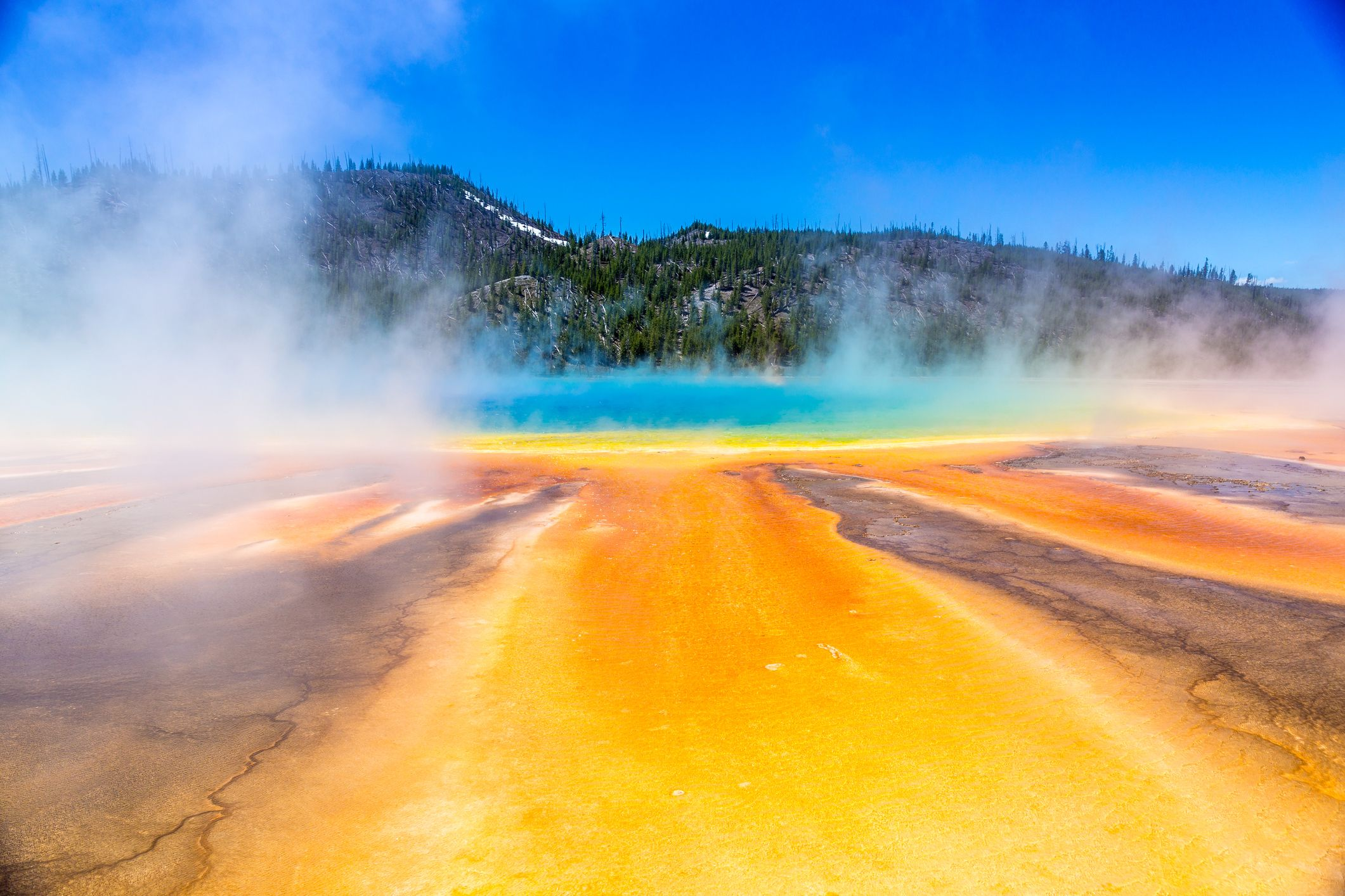How Far Is Yellowstone >> Dormant California Supervolcano Is Home to 240 Cubic Miles of Magma