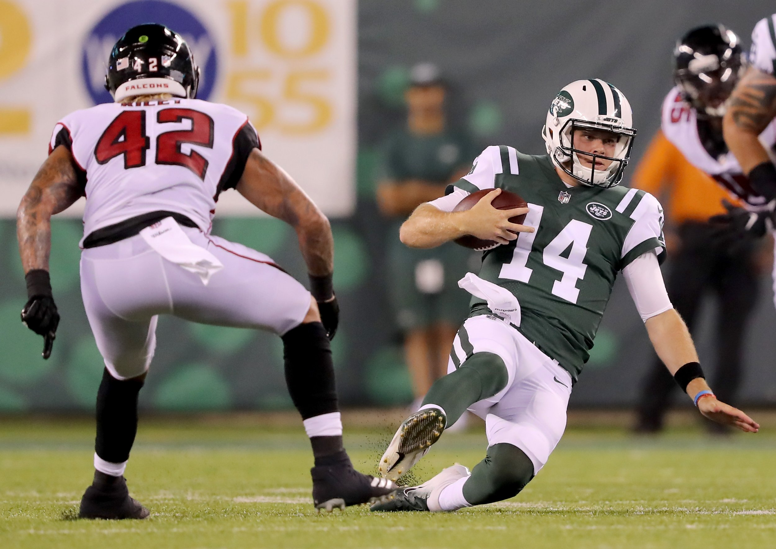 official photos c7625 c3245 Will Sam Darnold Be the Jets Starting QB This Season? No. 3 ...
