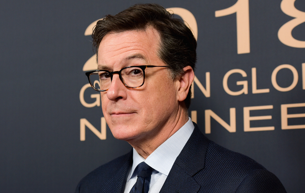 Stephen Colbert Remembers His Celebrity Kisses