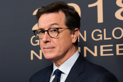 Stephen Colbert Remembers His Celebrity Kisses