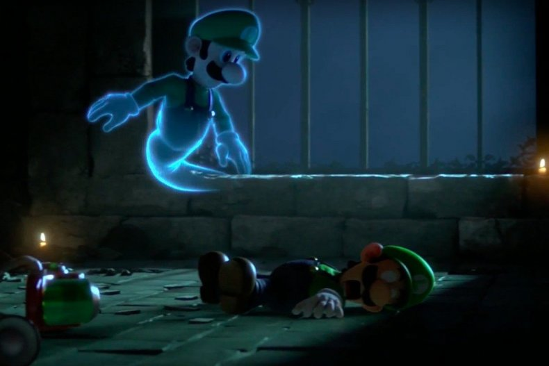 super smash bros ultimate luigi death spirit