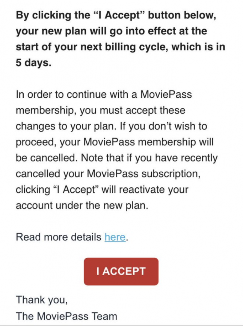 moviepass problems only one movie showing I accept new terms account cancelled re subscribed how to fix un, cancelling,