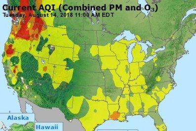air quality fires