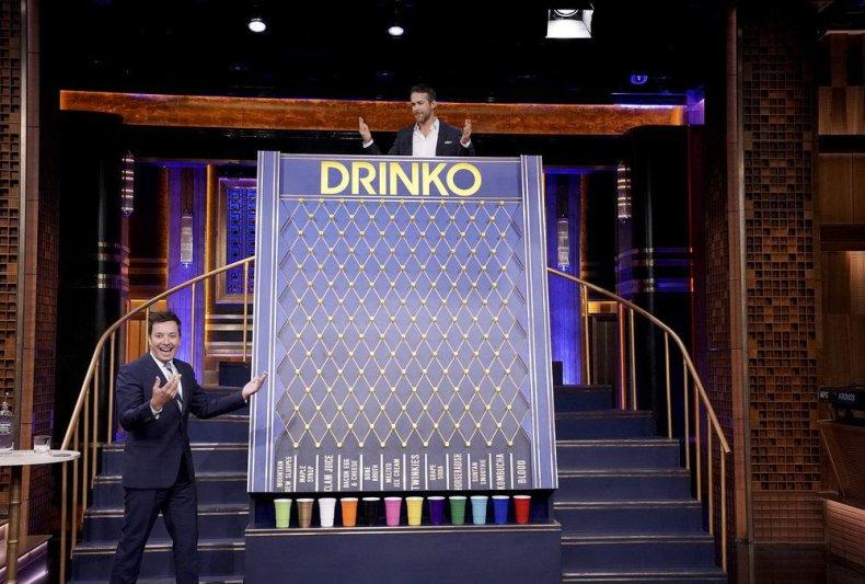 Ryan Reynolds Jimmy Fallon Drinko