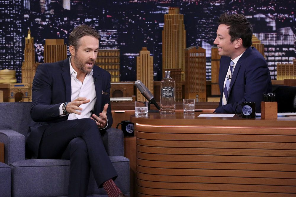 Ryan Reynolds Jimmy Fallon