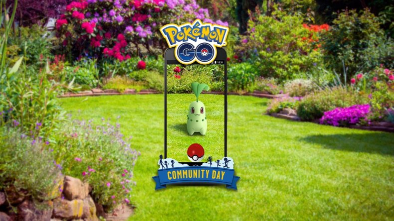 pokemon go chikorita community day