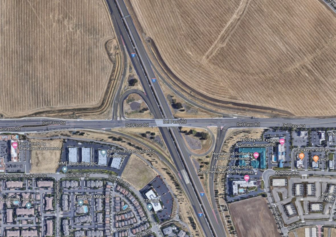 Interstate 5 Natomas