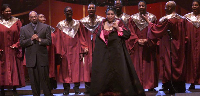 Aretha Franklin's Detroit Church Honors Her With a Vigil