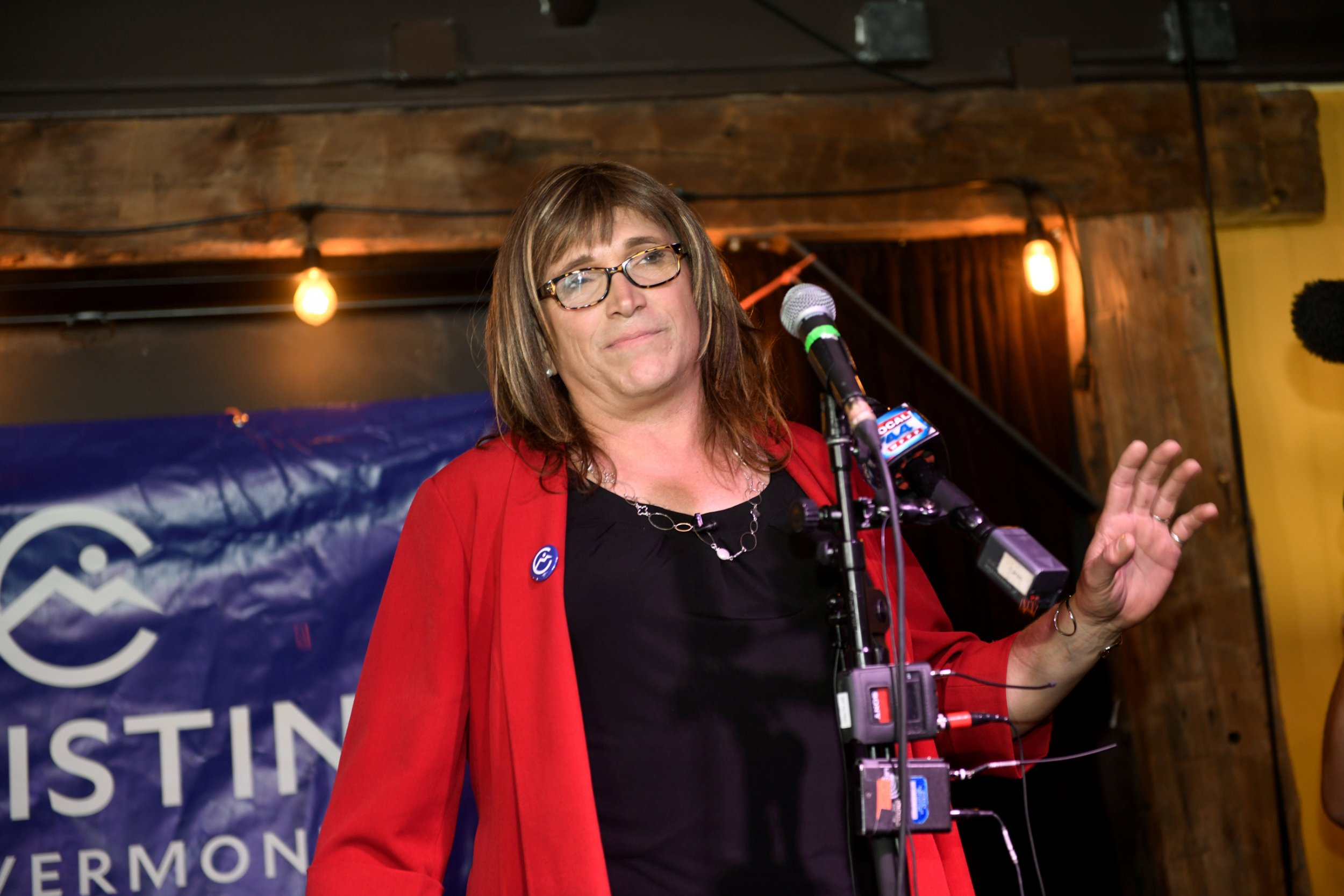 Christine Hallquist on CNN I don't even know what socialism is