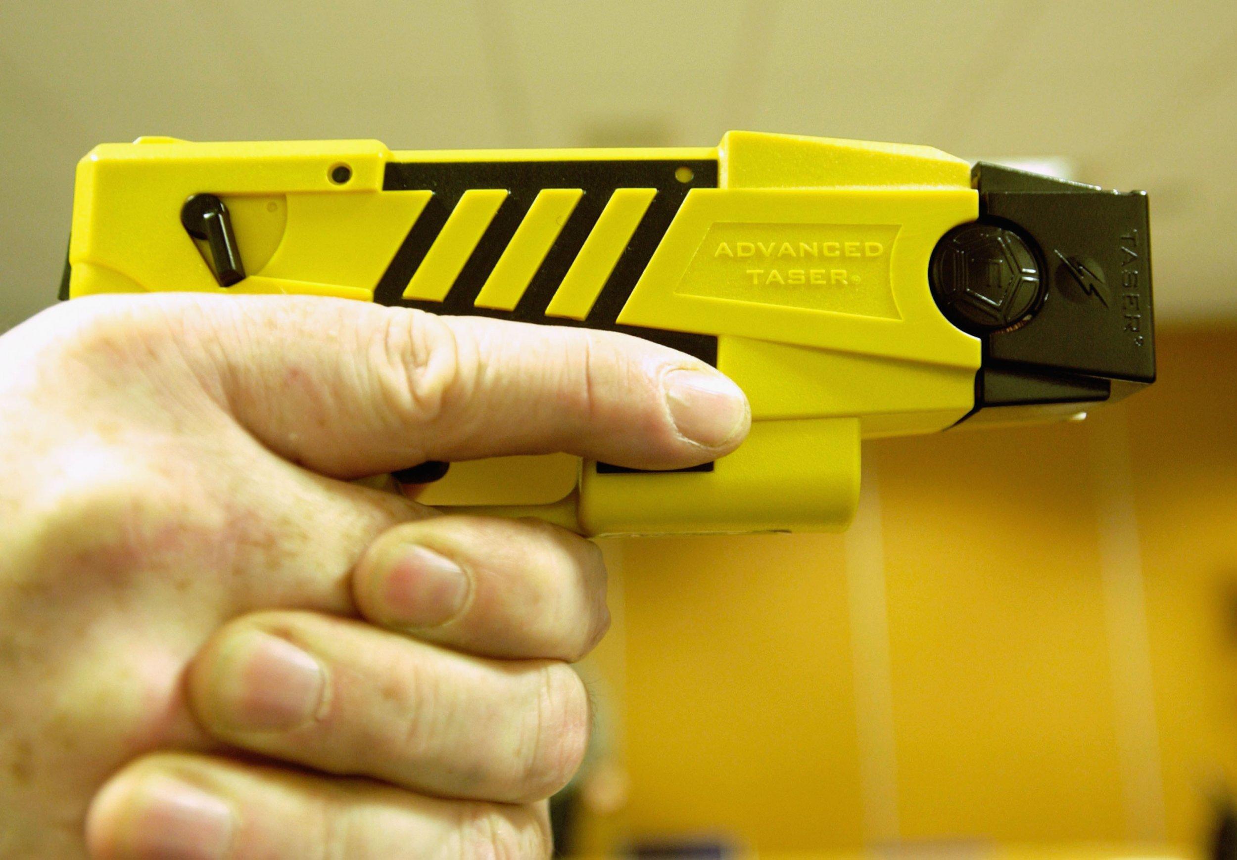 birmingham alabama police taser 11 year old boy, gun found during arrest