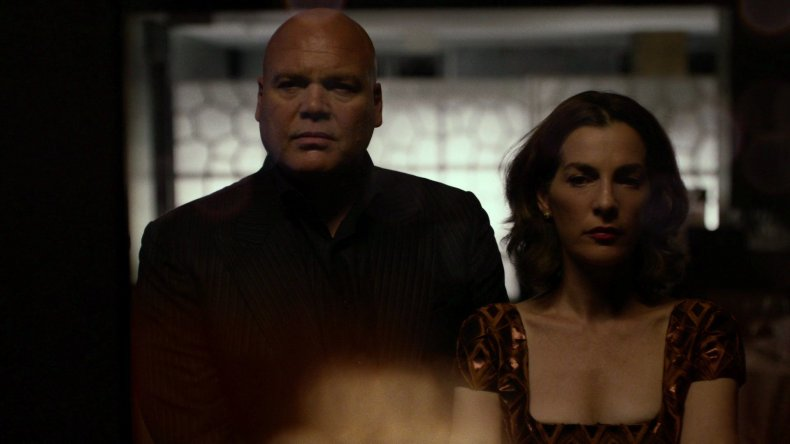 Wilson-Fisk-Vanessa-Marianna daredevil season 3