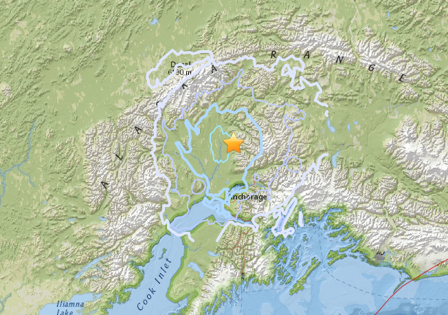 Anchorage Alaska Earthquake