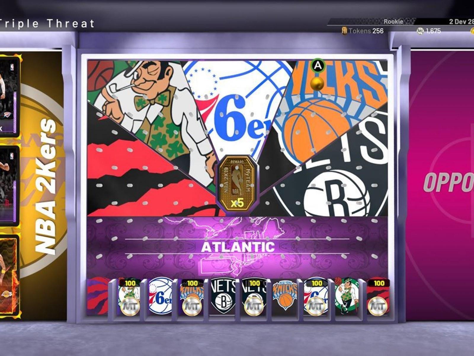 NBA 2K19' MyTeam Detailed, First Locker Code Revealed