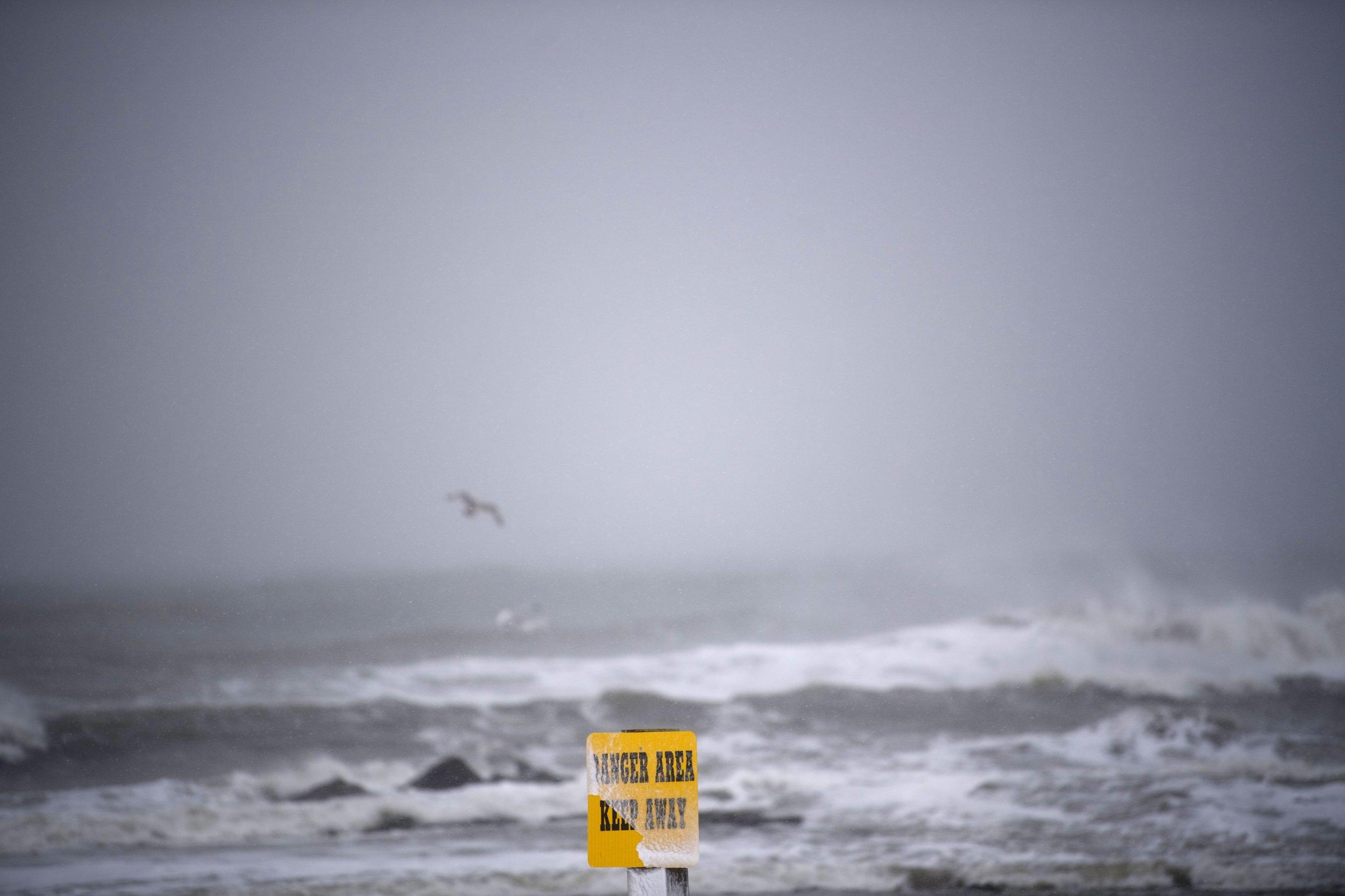 Closed New Jersey Beach
