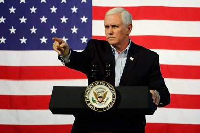 U.S. Vice President Mike Pence