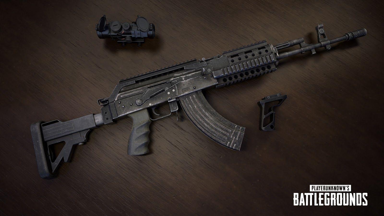 PUBG Beryl M762