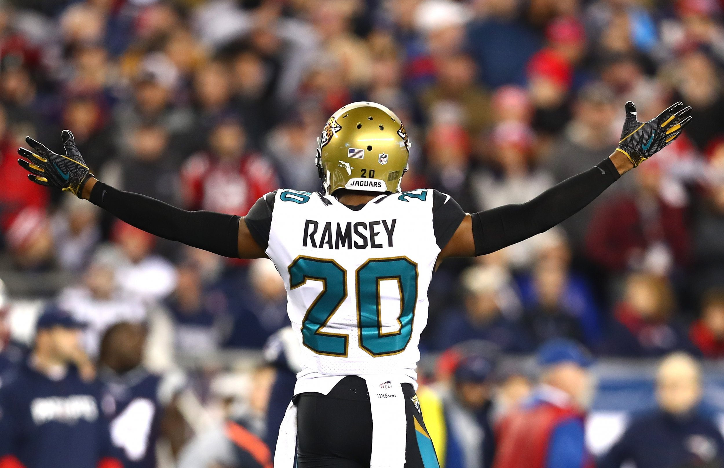 sale retailer 7ed09 3262e Jalen Ramsey Rates NFL QBs and Roasts 'Trash' Josh Allen