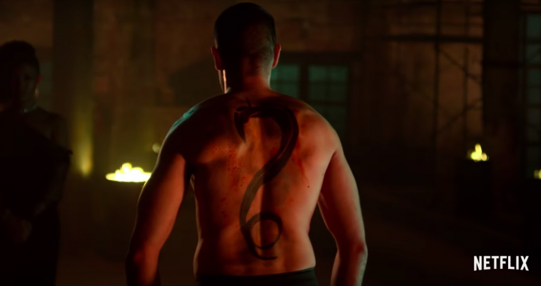 davos steel serpent iron fist season 2 trailer