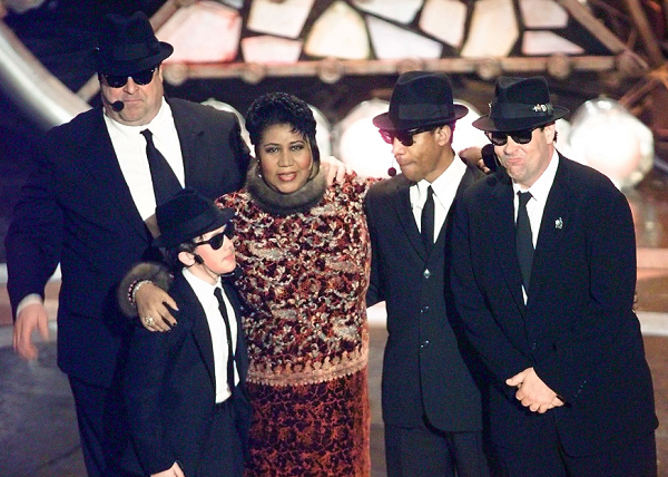 Remembering Aretha Franklin in 'The Blues Brothers'