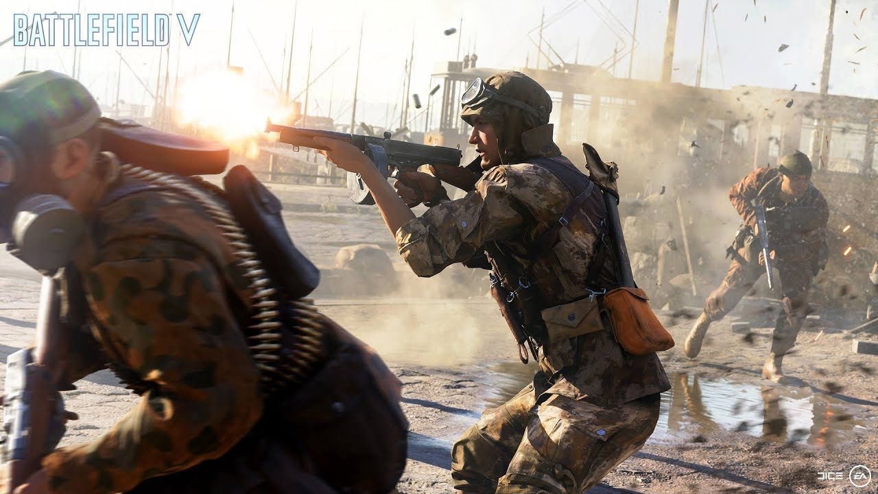 Battlefield v rotterdam gamescom trailer teases royale - Battlefield v concept art wallpaper ...