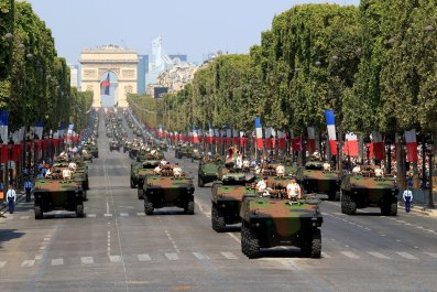 Trump Might Attend France's Military Parade