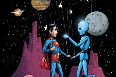 doomsday clock 8 variant  cover doctor manhattan vs superman