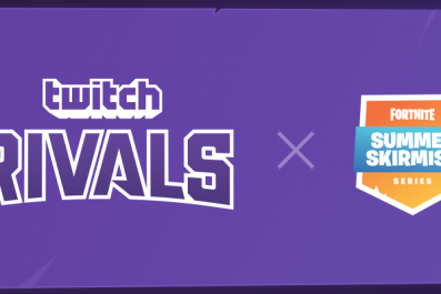 Fortnite Twitch Rivals X Summer Skirmish logo