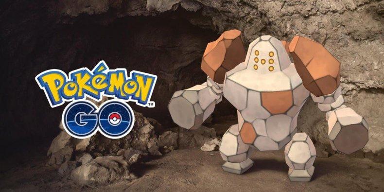 pokemon go regirock