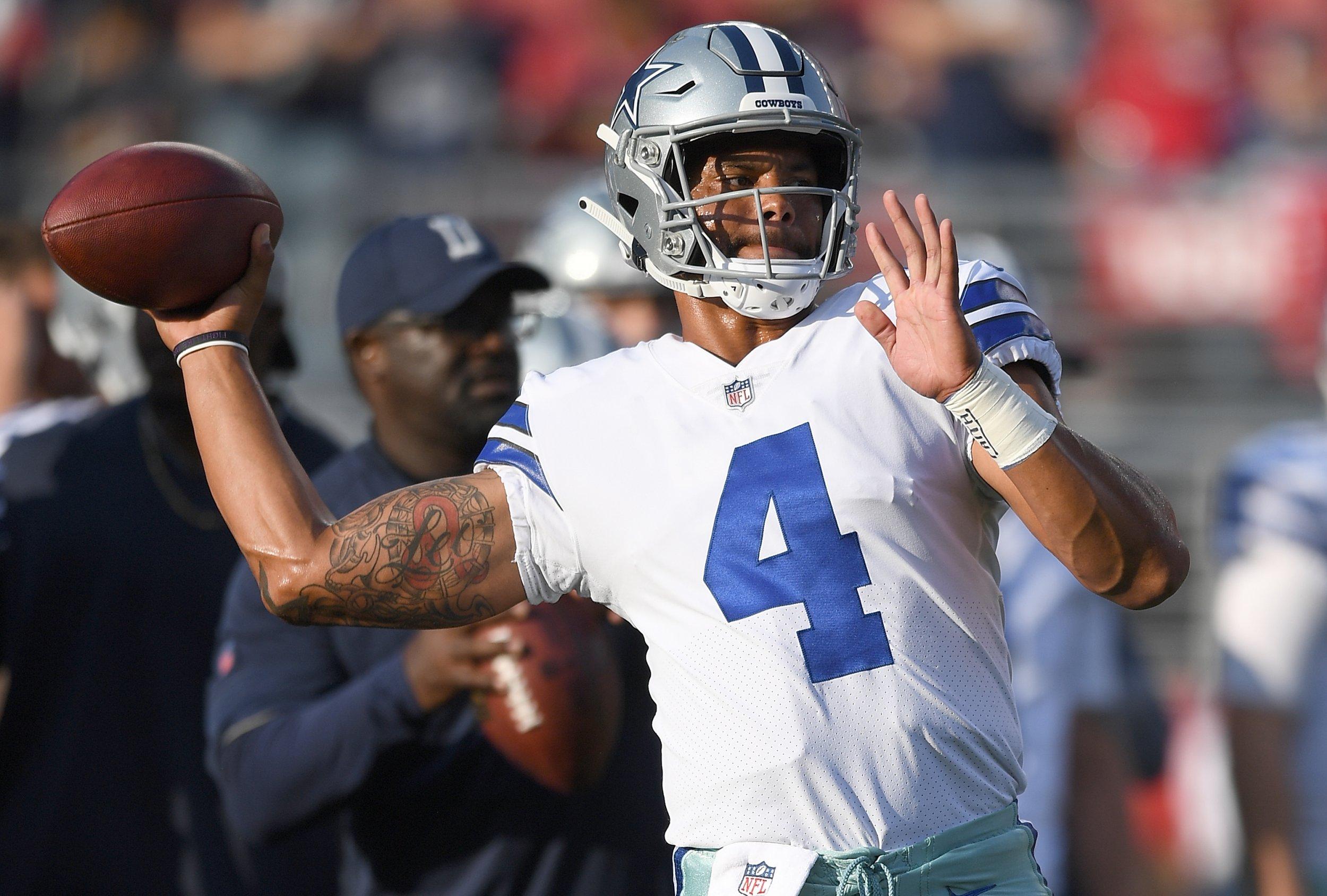 Dallas Cowboys vs. Cincinnati Bengals TV Channel, Live Stream, Start Time for 2018 Preseason Game