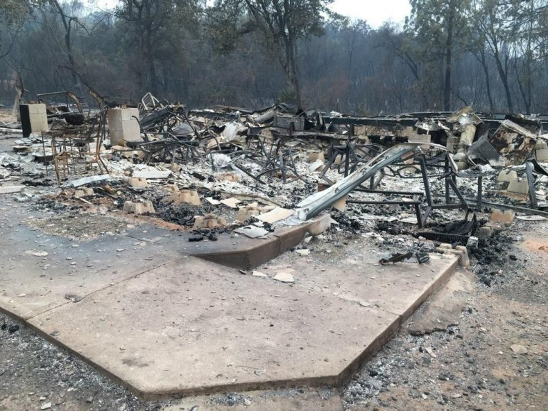 Carr fire pilot loses home